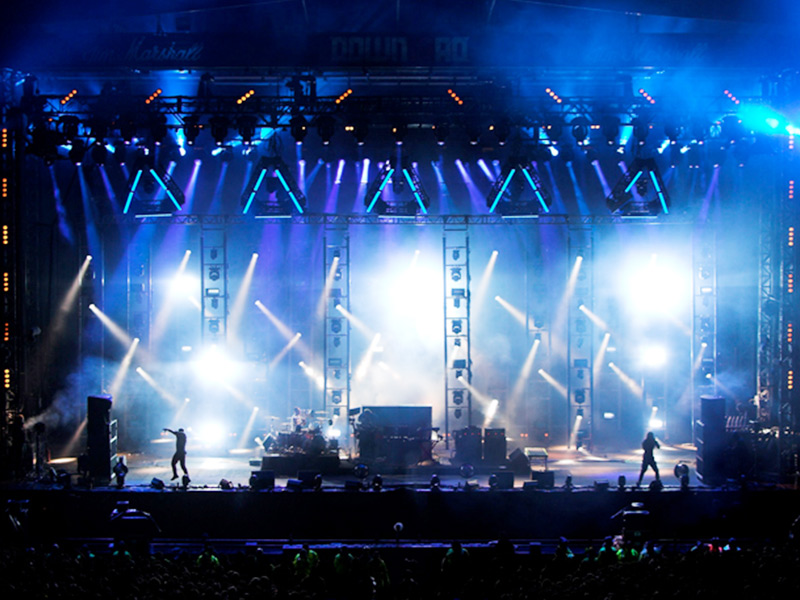 Multi-function hall stage lighting