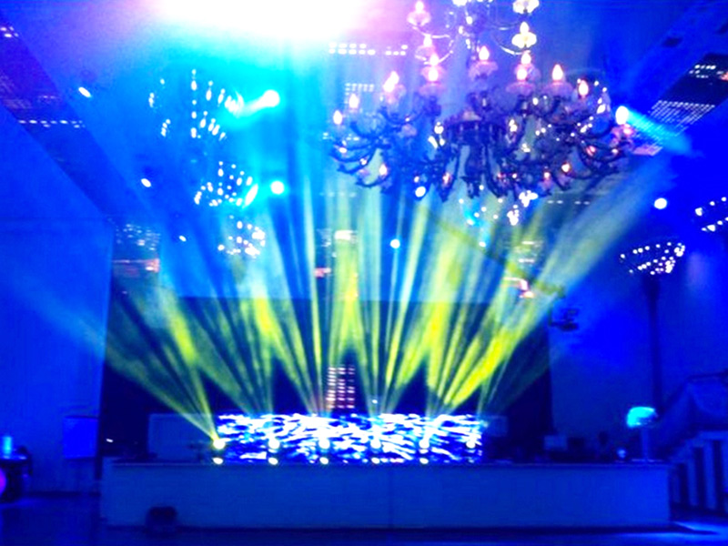 Ballroom stage lighting